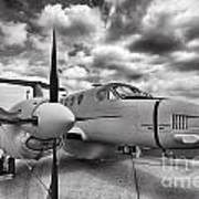 Beechcraft C-12 Huron Poster