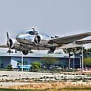 Beechcraft D-18 Poster