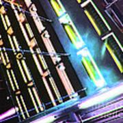 Hot Neon Nights Poster
