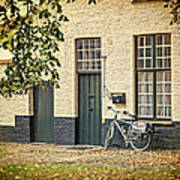 Begijnhof Bicycle Poster