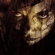 Behind The Veil Poster by Gun Legler