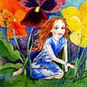 Tiny Flower Fairy Poster