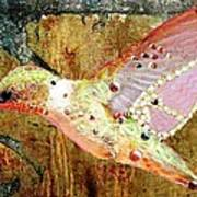 Bejeweled Hummingbird Poster