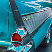 Bel Air Tail Fin Poster