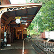 Belgrave Train Station Poster