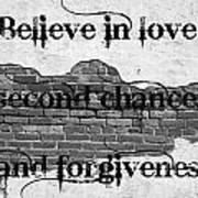 Believe Poster by Lorraine Heath