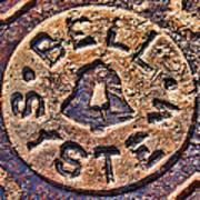 Bell Medallion Poster