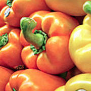 Bell Pepper Stack Poster