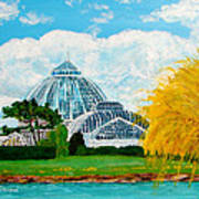 Belle Isle Conservatory Poster