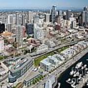 Belltown In Downtown Seattle Poster