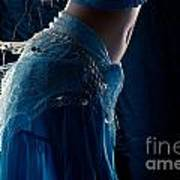Belly Dance Color Poster
