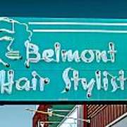 Belmont Hair Stylists Poster