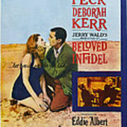 Beloved Infidel, Canadian Poster Poster
