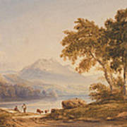 Ben Vorlich And Loch Lomond Poster by Anthony Vandyke Copley Fielding