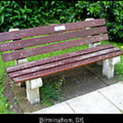 Bench 13 Poster