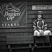 Benches For Jockeys Only Poster