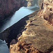 Bend In The Colorado River Poster