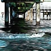 Beneath The Pier  Poster