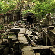 Beng Mealea Jungle Temple Poster