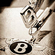 Bentley Hood Ornament - Emblem Poster