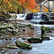 Berea Falls Ohio Poster