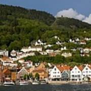 Bergen Harbor Poster