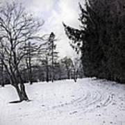 Berkshires Winter 9 - Massachusetts Poster