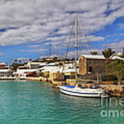 Bermuda St George Harbour Poster by Charline Xia