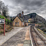 Berwyn Railway Station Poster