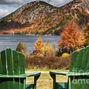 Best Seats In Acadia Poster by George Oze