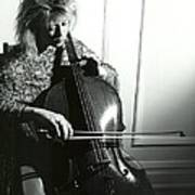 Beth And Oiled Cello Poster