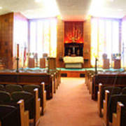 Beth El Jacob Temple In Des Moines Poster