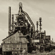 Bethlehem Pa Steel Plant   Poster