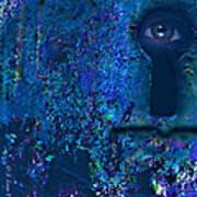 Beyond The Door - Abstract Poster