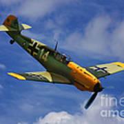 Bf 109 Messerschmitt  Poster