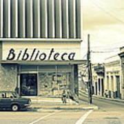Biblioteca Cubana Poster