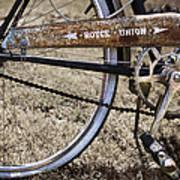 Bicycle Gears Poster by Debra and Dave Vanderlaan