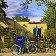 Bicycle In Santa Fe Poster