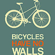 Bicycles Have No Walls Poster 3 Poster