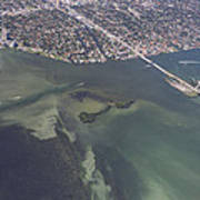 Bidr's Eye View Of Beautiful Miami Beachfront Poster