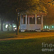 Bienville Square Grandstand In A Foggy Mist Poster