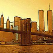 New York City - Big Apple Sunrise Poster