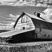 Big Barn Near Ellensburg Washington 2 Poster