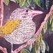 Big Bird Poster by Linda Vaughon