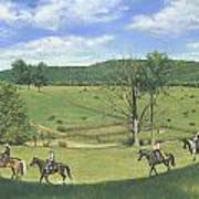 Big Creek Trail Ride Poster