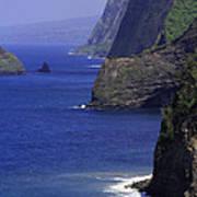 Big Island Cliffs  Poster
