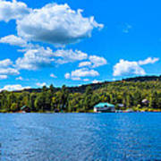 Big Moose Lake In The Adirondacks Poster