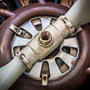Big Motor Vintage Vintage Aircraft Poster
