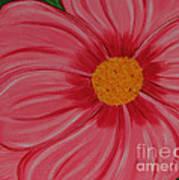 Big Pink Flower - Florist - Gardener Poster