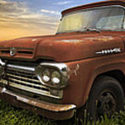 Big Red Ford Poster